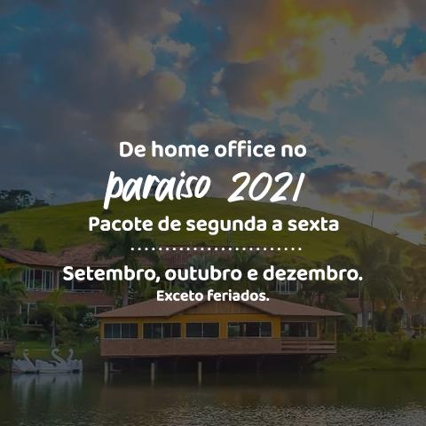 De home office no paraíso